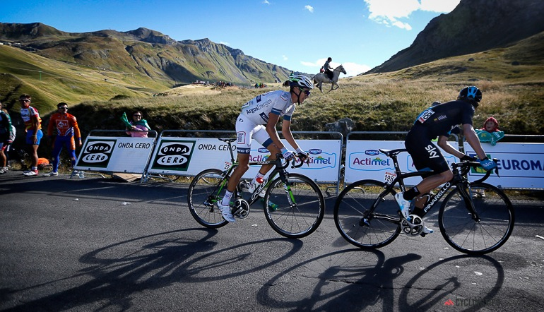 Uran and Barguil were the last men standing and the young Barguil took his second stage win in a week.