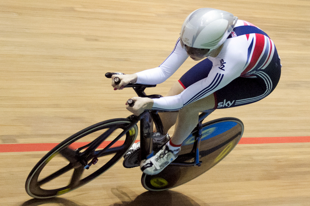 The UK Sports track bikes are out of reach for most cyclists at £24,000 a frame.