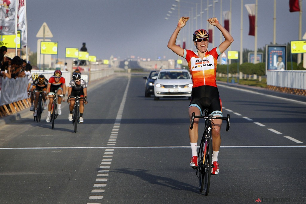 Van Dijk is a previous winner and came in third in last year's edition while riding in support of teammate and race winner Lizzie Armitstead