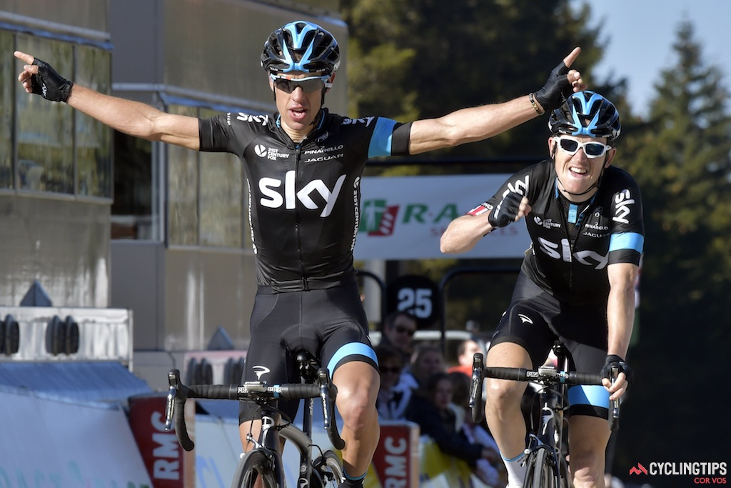 Porte and his teammate Geraint Thomas went 1-2 on stage 4 of Paris-Nice. Porte would also go on to win the final stage ITT and the race overall.