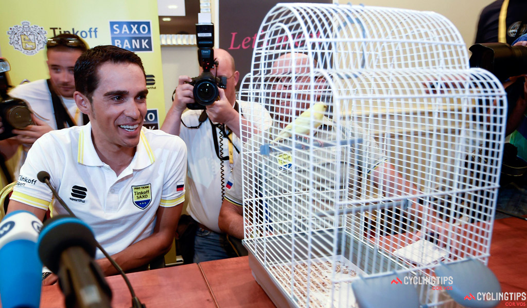 Team Tinkoff - Saxo Presseconference