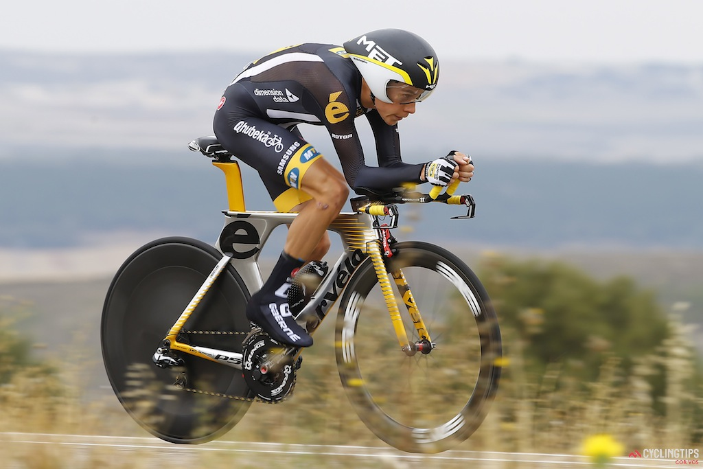 Meintjes is hoping to improve his time trialling which would make him a greater GC threat in Grand Tours.