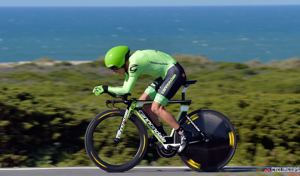 In addition to being one of the sport's best climbers, Uran can also hold his own against the clock.