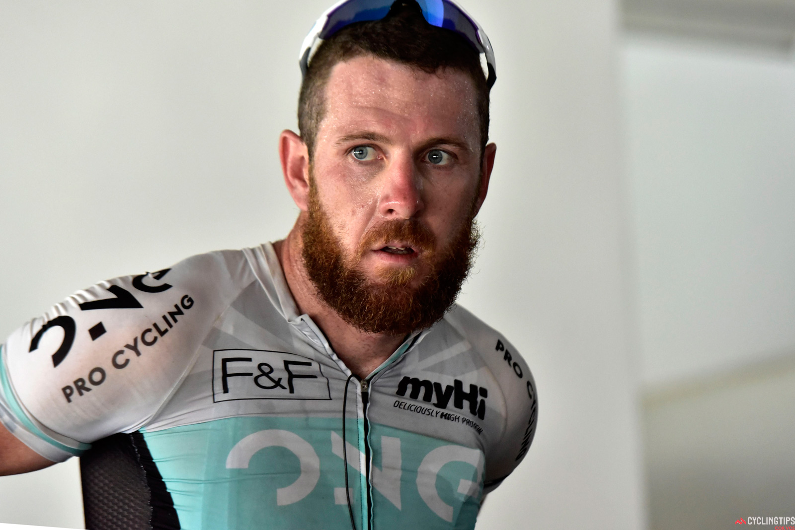 Goss' final season was with the One Pro Cycling team.