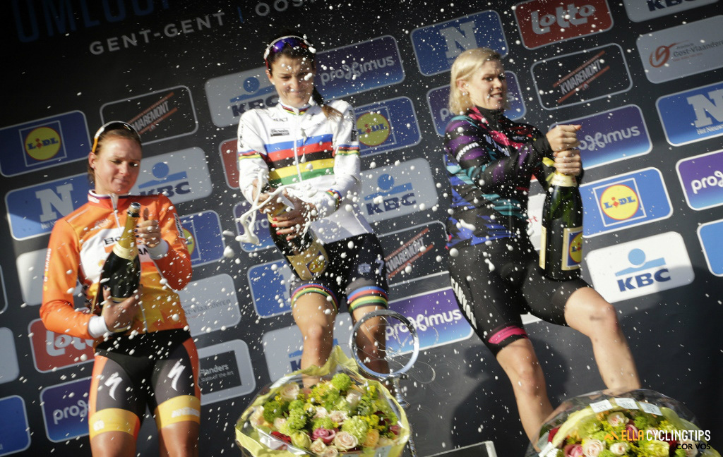 It's been a rollercoaster season for Cromwell who, despite getting a podium in Het Nieuwsblad, saw disappointing results in her Classics campaign.