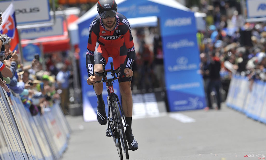 Taylor Phinney (BMC Racing), Stage 6 of the 2016 Amgen Tour of California, Folsom time trial. Photo Brian Hodes/Cor Vos.