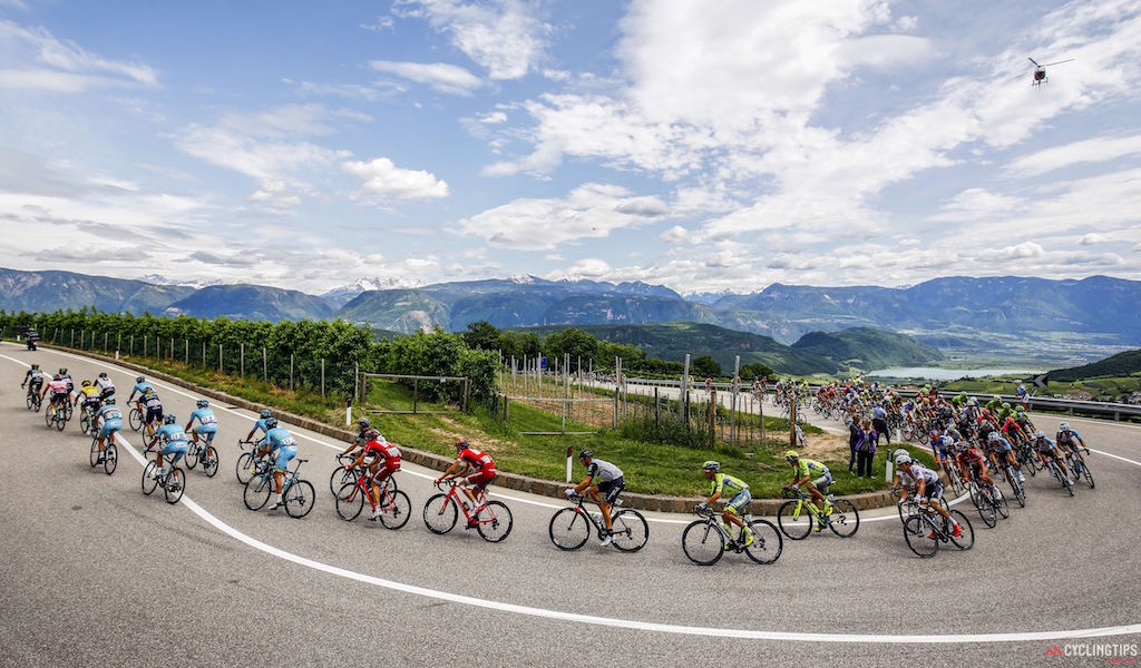 Stage 16 of the 2016 Giro d'Italia, from Bressanone to Andalo. Photo LB/RB/Cor Vos.