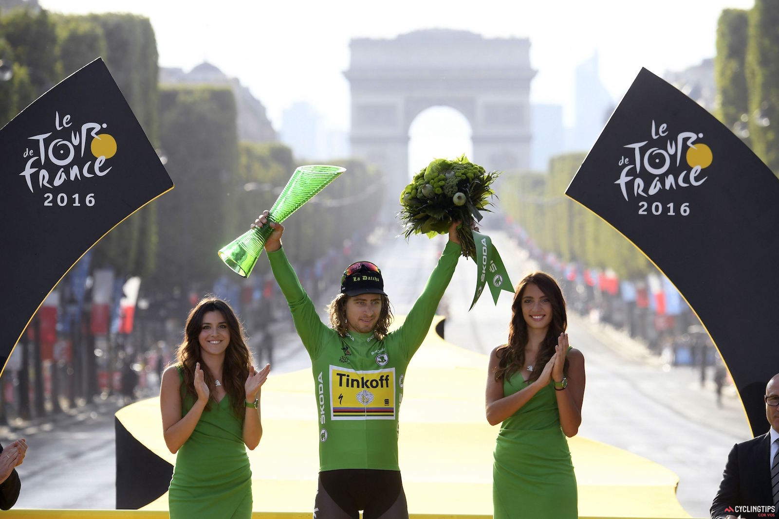 The green machine: Sagan has won the green jersey every year he has participated in the Tour, which amounts to five wins. Photo: Cor Vos