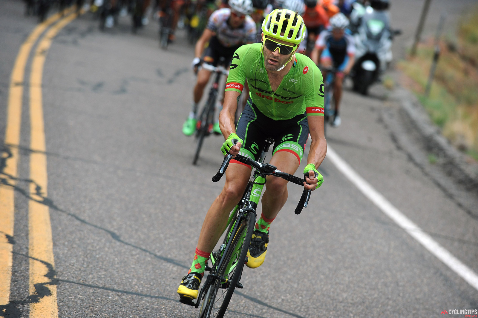 Phil Gaimon in action during stage two of the Larry H.Miller Tour of Utah.