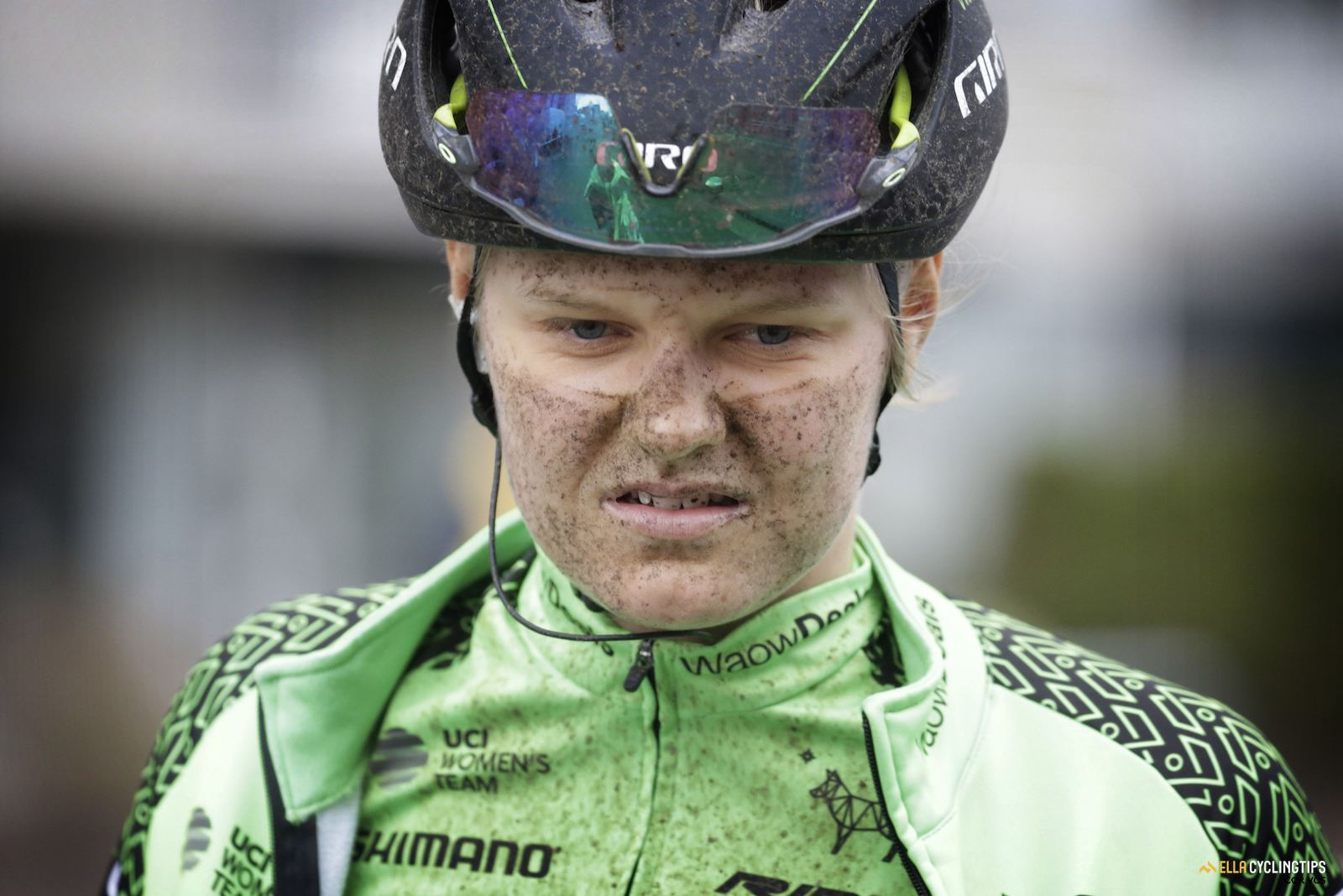 Dirty faces of the 2018 Ronde van Drenthe.