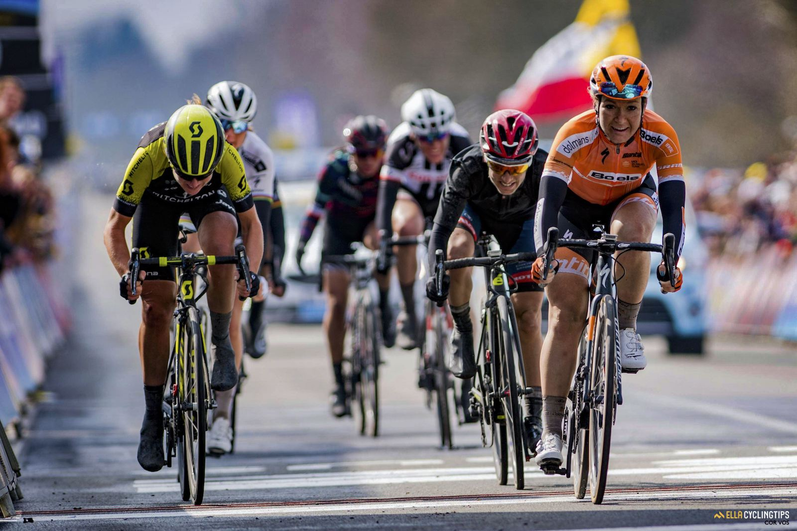 Sprint for second Flanders