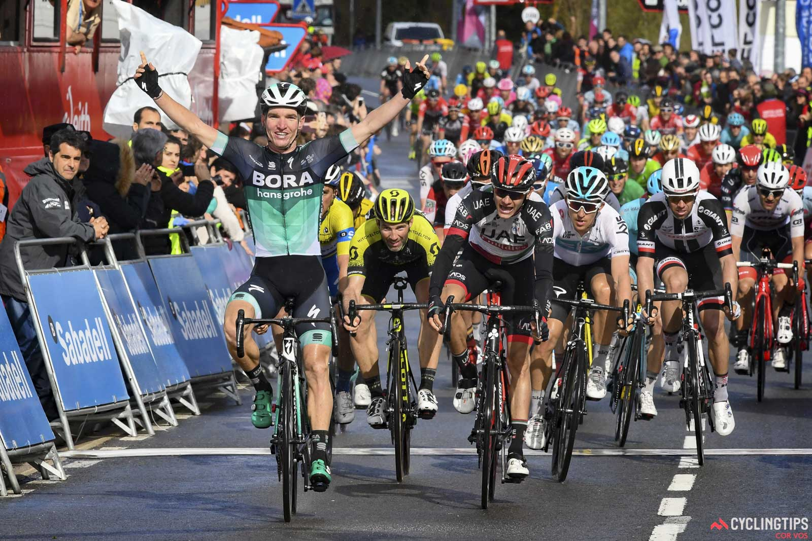 Jay McCarthy wins stage 3 of the Itzulia Basque Country