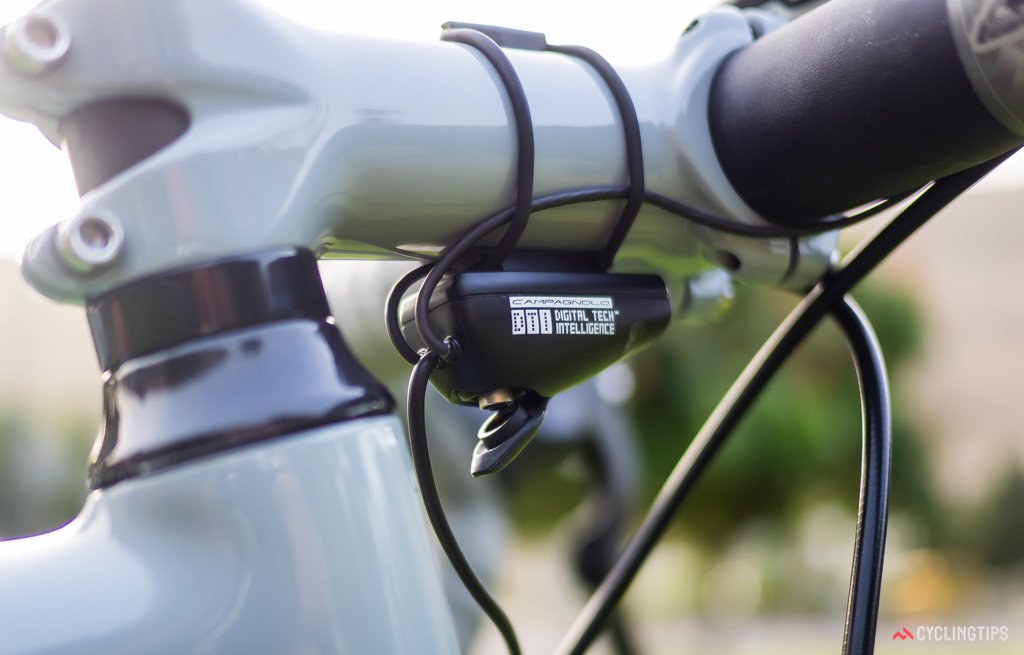 EPS V3 not only adds wireless communication, it relocates the battery charging port to the DTI unit.