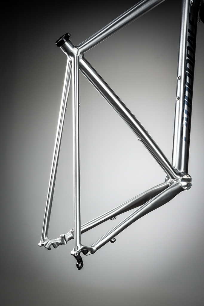 The tube shaping on the CAADX rear end is less dramatic than the SuperX. Photo: Cannondale.