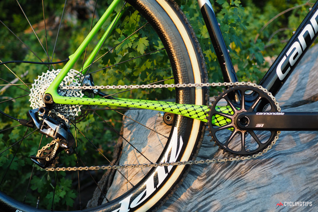 Cannondale will offer the bikes with 1x or 2x drivetrains, depending on model.