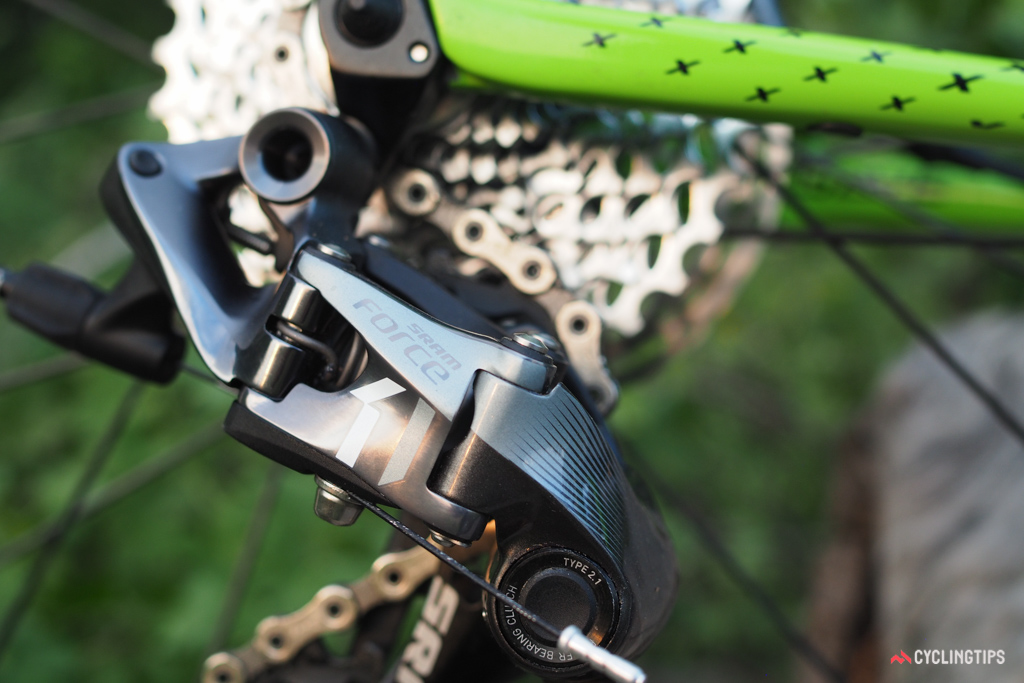 SRAM Force 1 is as premium as it gets for the new Cannondale SuperX Team.