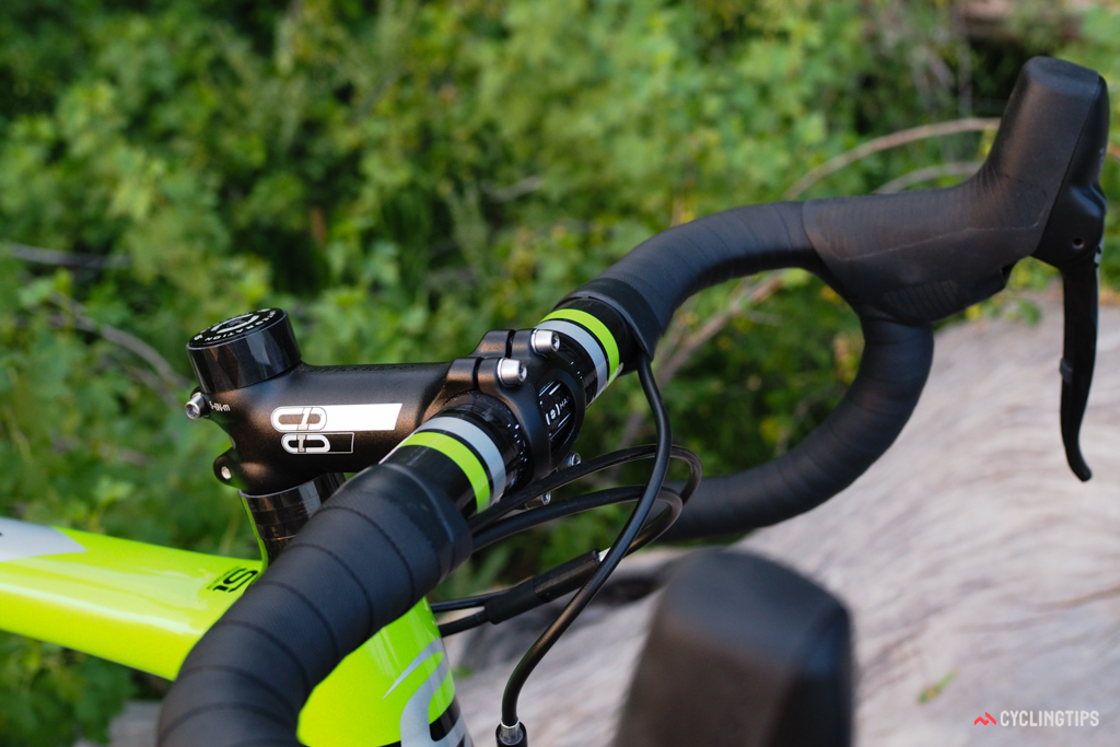 Cannondale is using house-brand cockpit components across the board.