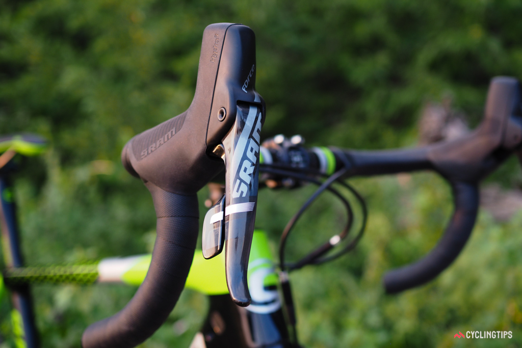 One can't help but wonder if a SRAM Red eTap version is in the works.