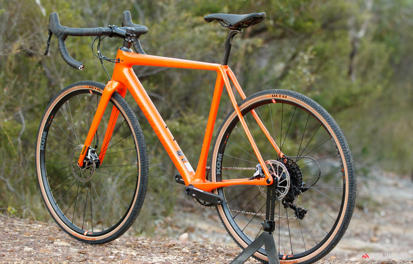 Cannondale SuperX SE whole bike from left
