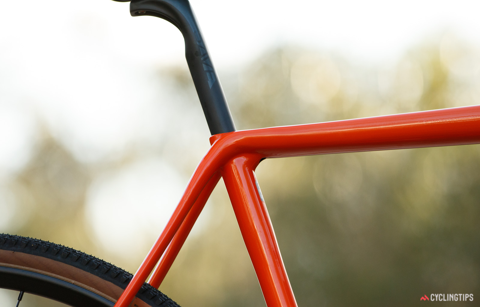Cannondale SuperX SE top tube and seat tube junction