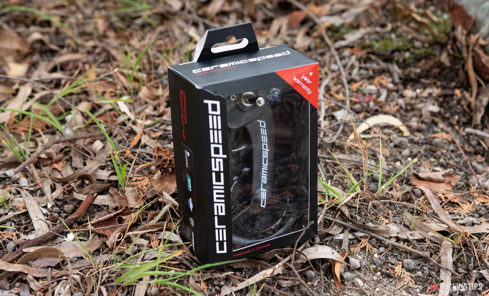 CeramicSpeed Oversized Pulley Wheel System review cyclingtips boxed