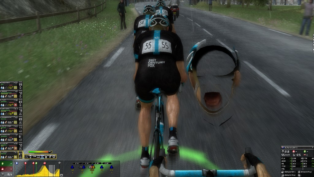 There are some weird graphical glitches at times...