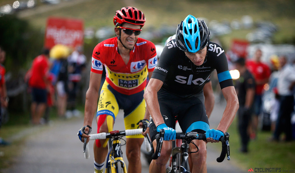Tour de France winners Alberto Contador and Chris Froome command some of the top salaries in cycling.