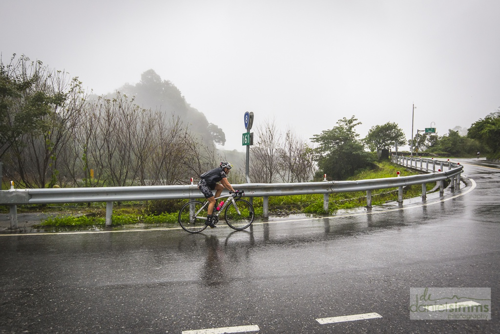 Tiff battles atrocious conditions (and a hunger flat) at the recent Taiwan KOM Challenge.