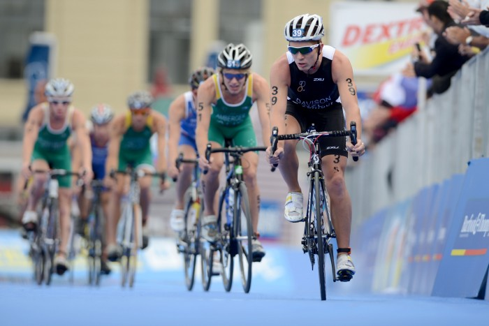 """New Avanti signee, and former NZ triathlete, Tom Davison.  """"Davison is very good on the bike,"""" Andrew Christie-Johnson said. """"His numbers are some of the best we have ever had on the team."""" Image courtesy of Triathalon.org"""