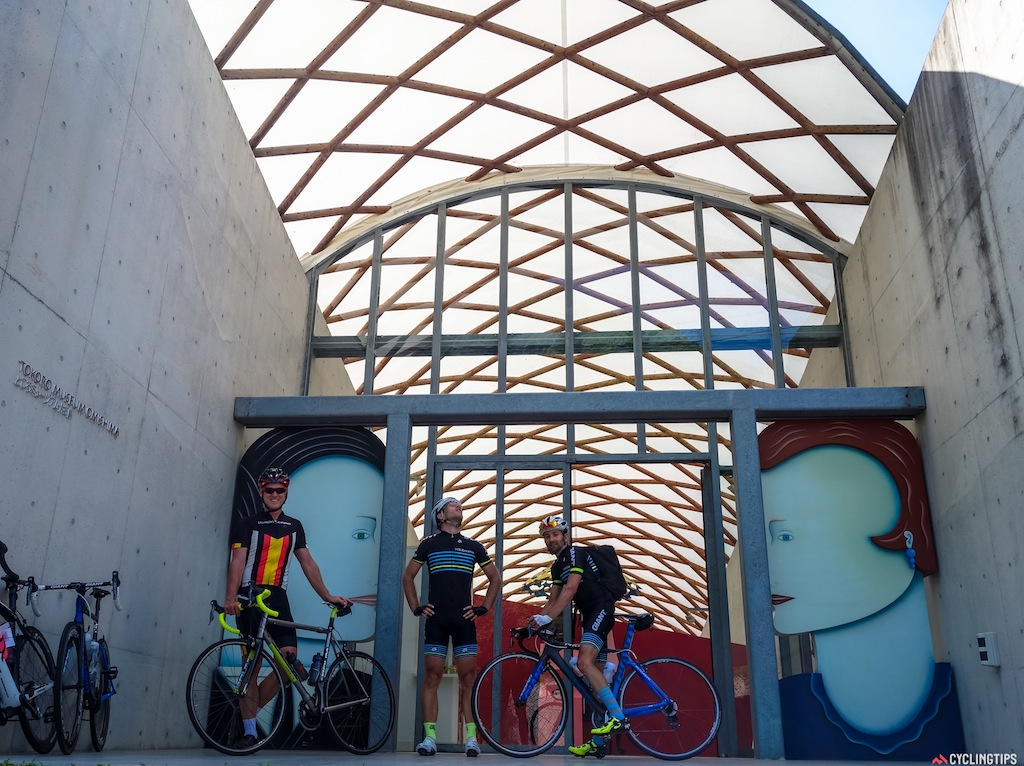 A quick visit to Tokoro Musium which sits along the Shimanami cycle way