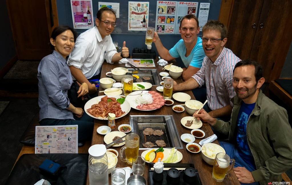 Tourism Hiroshima took us out for the most incredible Korean style BBQ dinner.