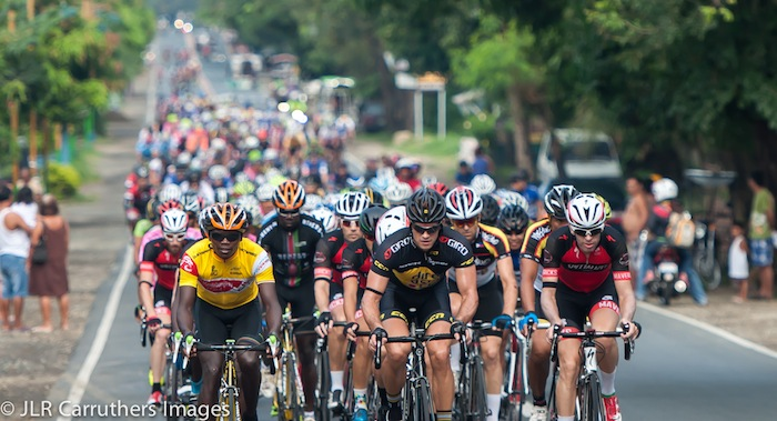 The stage four commemorative ride in honour of John Njoroge Muya