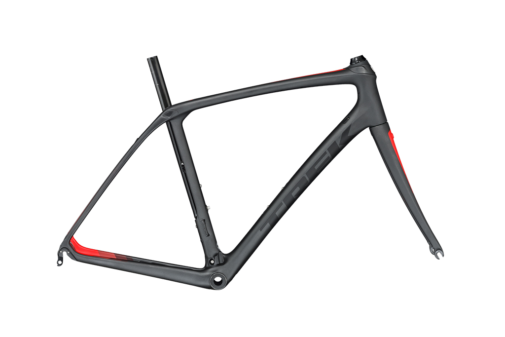 Prefer to build it up yourself? Trek will offer the new Domane SLR as bare framesets, too, in both rim and disc brake configurations. Photo: Trek Bicycle Corporation.