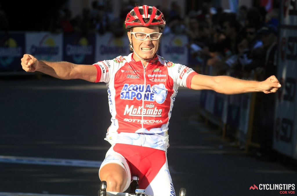 In his first season as a pro, racing for the Acqua & Sapone squad, Betancur won the 2011 1.HC Giro dell' Emilia.