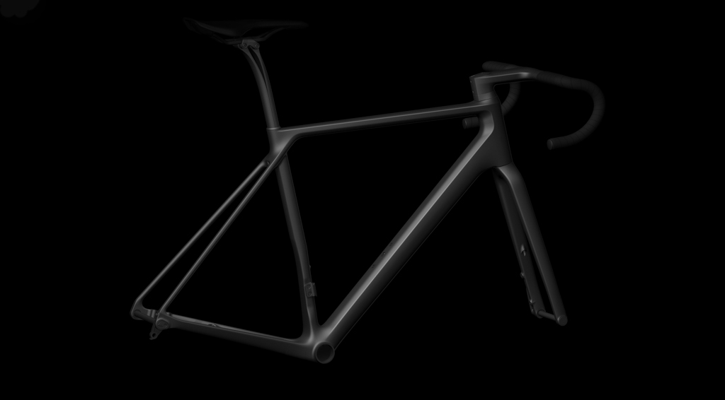Canyon's 'Comfort Kink' seat tube shape isn't intended to provide more comfort from the frame itself. Rather, it's a way to maintain a proper riding position while still using a seatpost with lots of setback for extra flex up top. Photo: Canyon Bicycles.