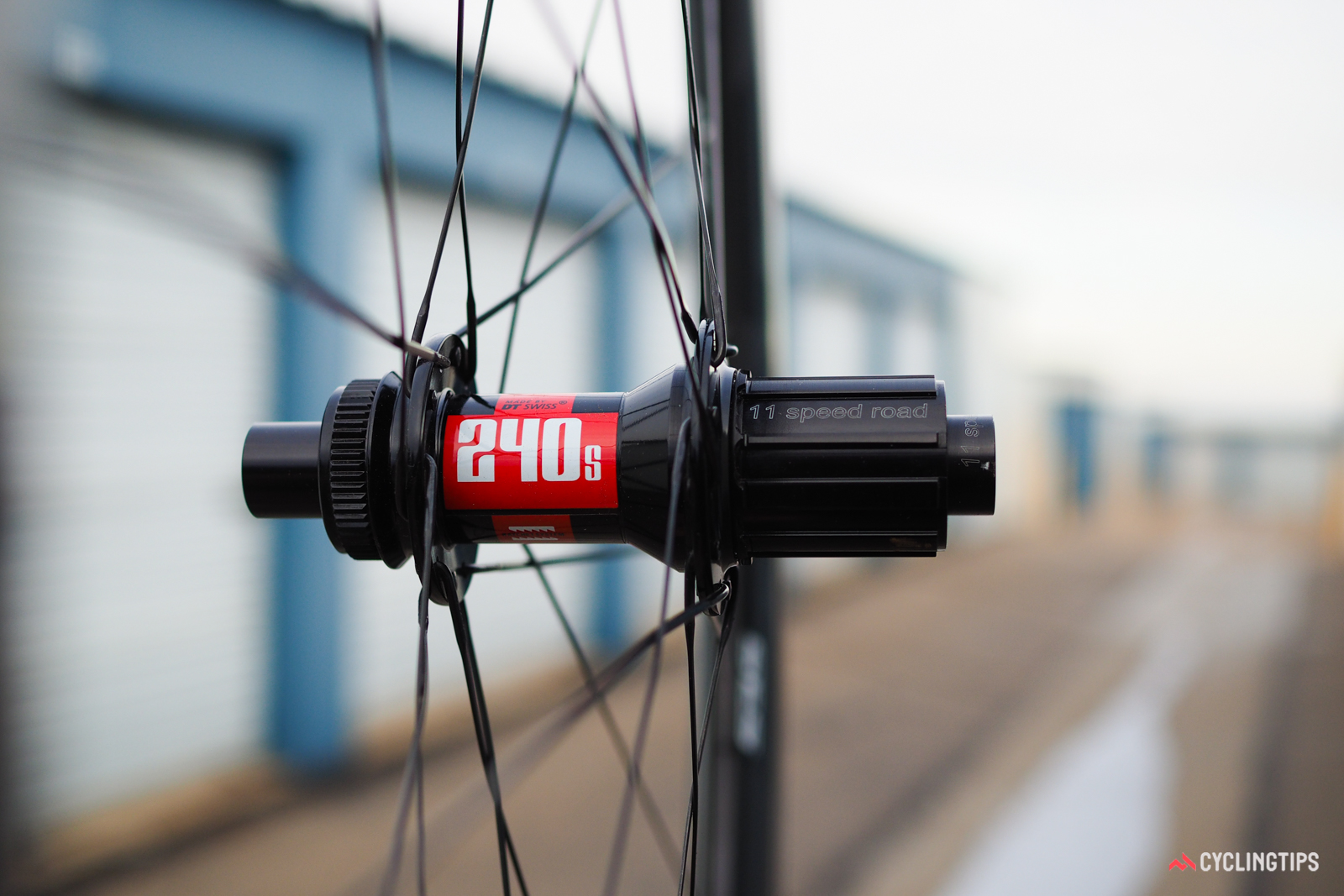The standard DT Swiss 240s rear hub comes stock with 18-tooth ratchet rings, which produce a languid 20-degree freehub engagement speed. Improving that figure requires either upgrading the ratchet rings yourself or choosing the Chris King R45 hub option, both of which cost more money.