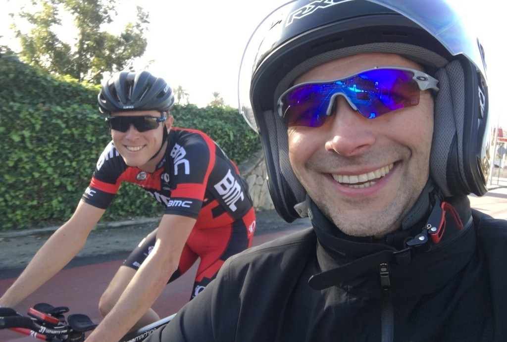 Everyone is happy after motor pacing.