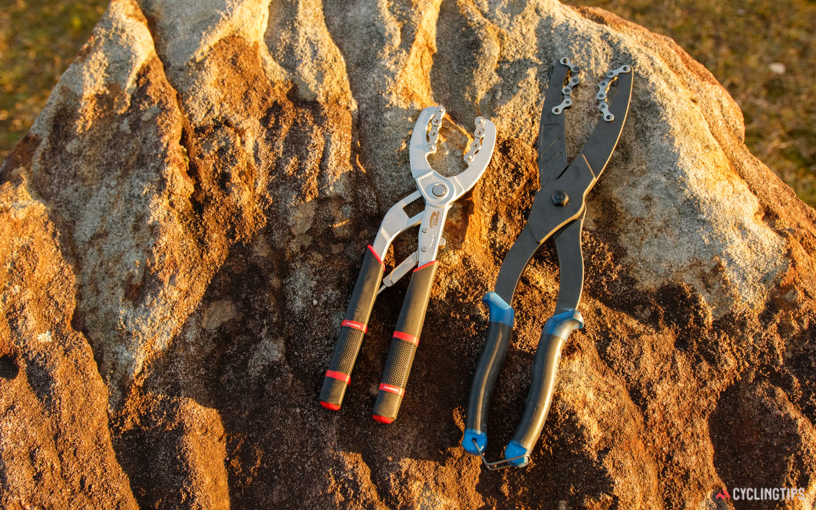 Feedback Sports Cassette Pliers versus Park Tool Chain Whip Pliers