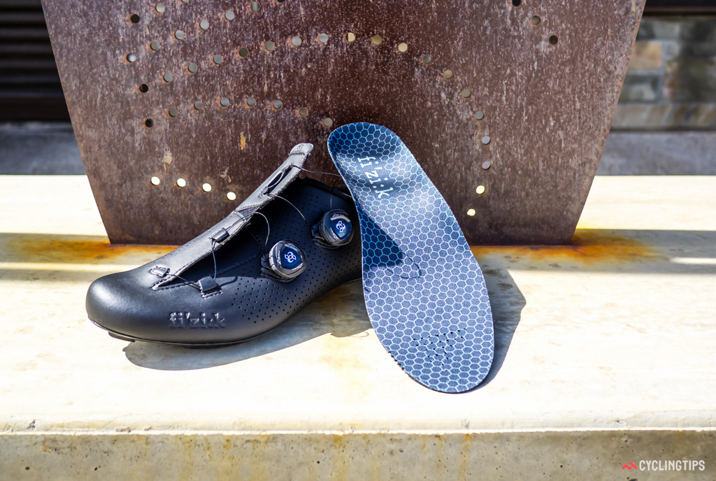 The inner sole is a very basic offering, perhaps anticipating that buyers will have their own preference for aftermarket products or orthotics.