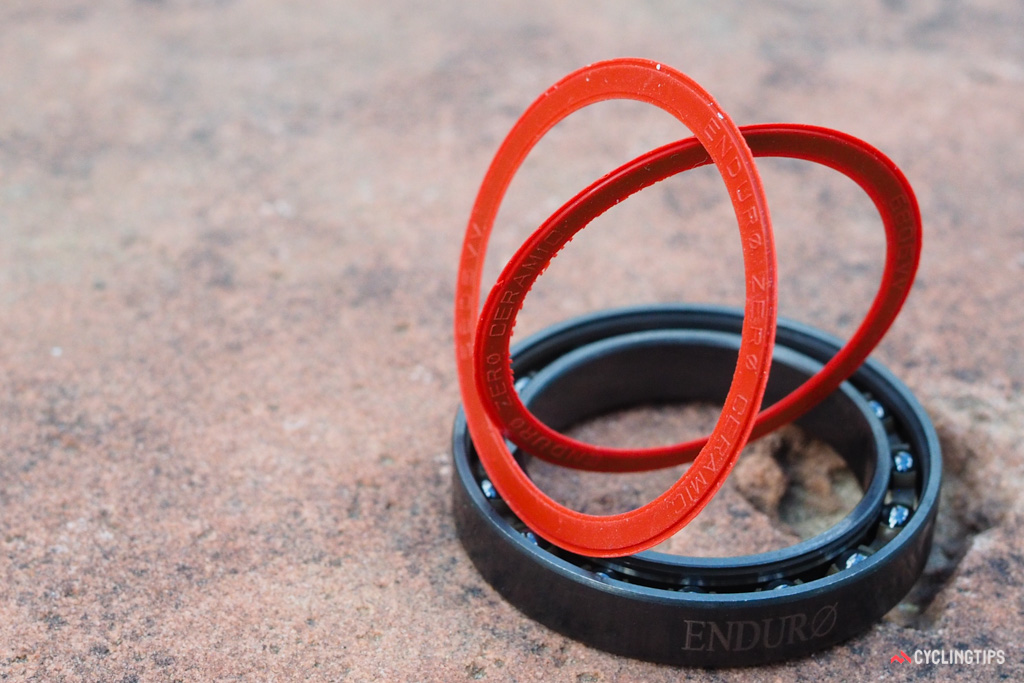 Racers sometimes remove the seals from their bearing cartridges in an effort to save a bit of friction and gain some free speed. According to Friction Facts' testing, it's not worth the risk.