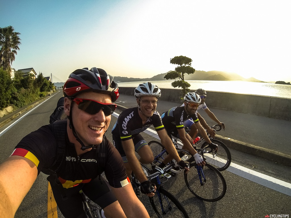 Obligitory selfie on the Shimanami cycleway