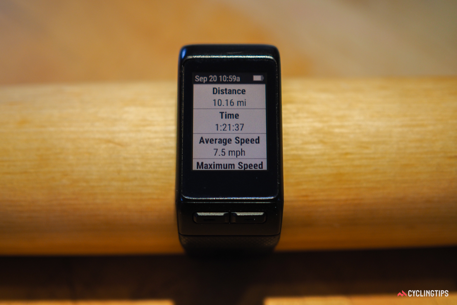 The Garmin Vivoactive HR may have limited appeal for hardcore cyclists, but it's quite the device for active people, in general.