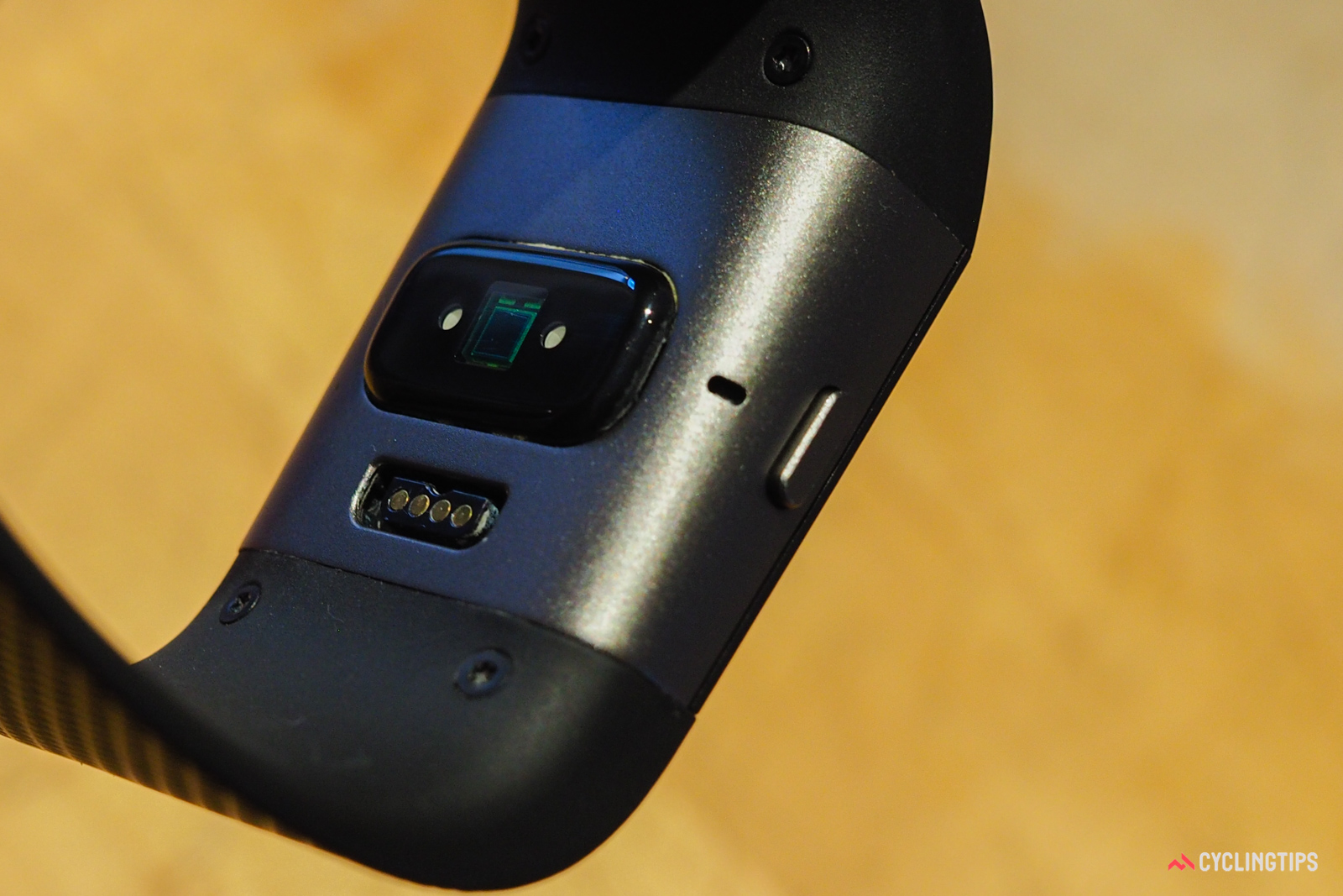 The heart rate data from the Fitbit Surge's optical sensor was somewhat disappointing.