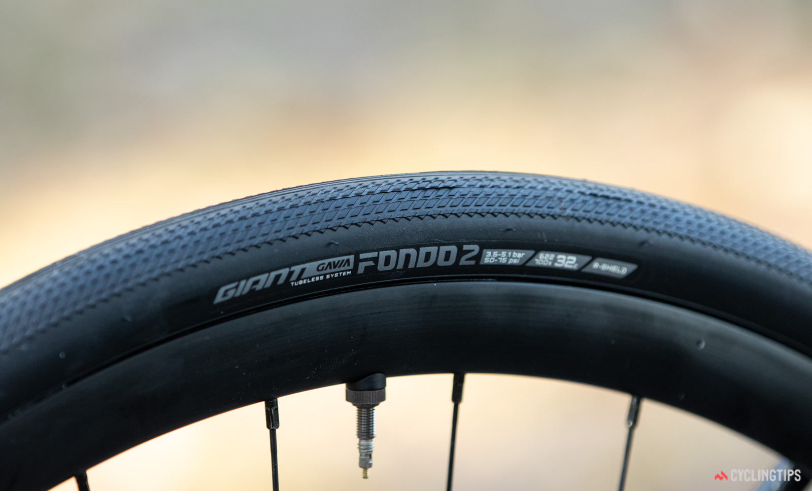 Giant Contend AR 1 2020 tyre clearance
