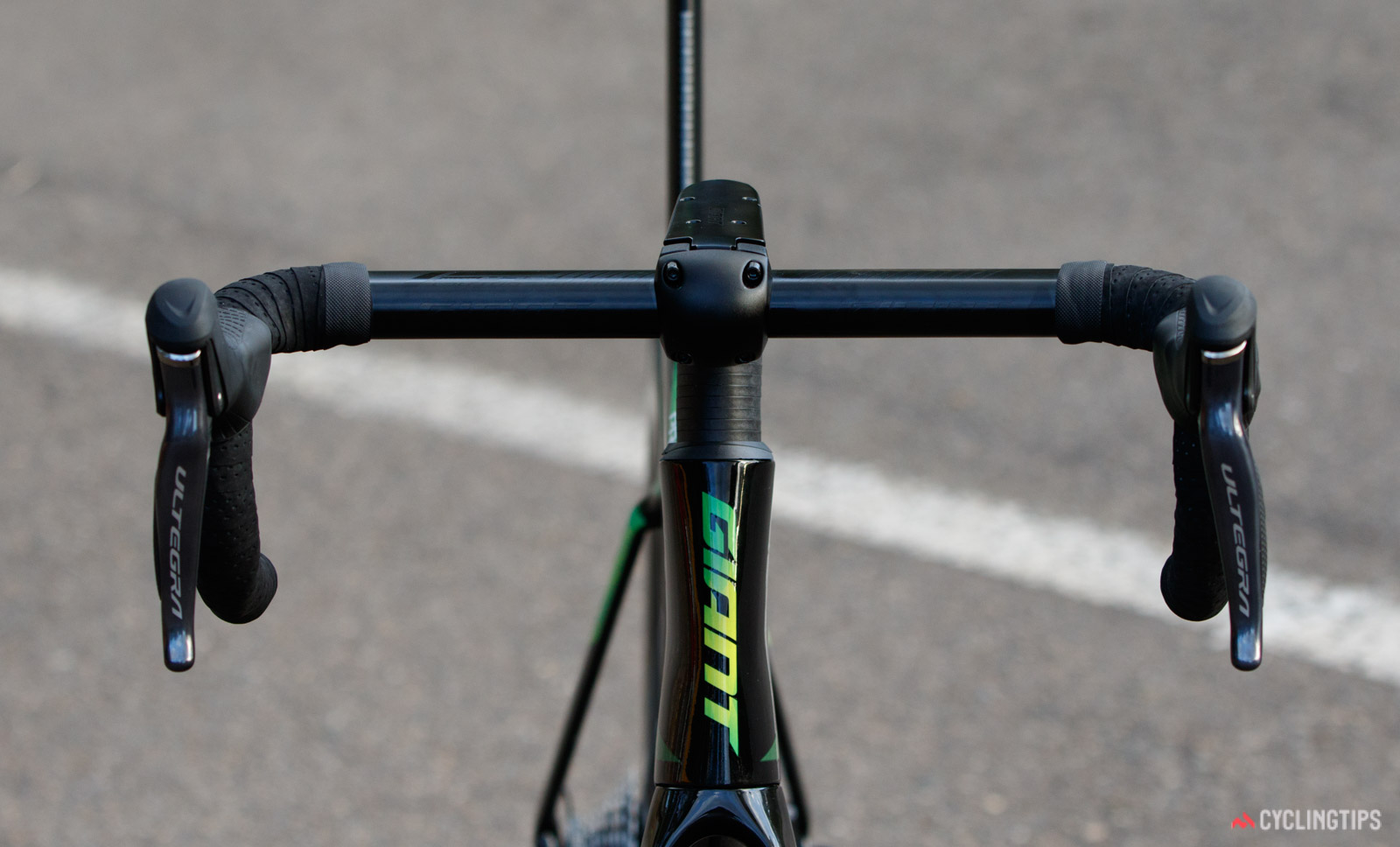 2018 Giant Propel Advanced Pro Disc frontal profile