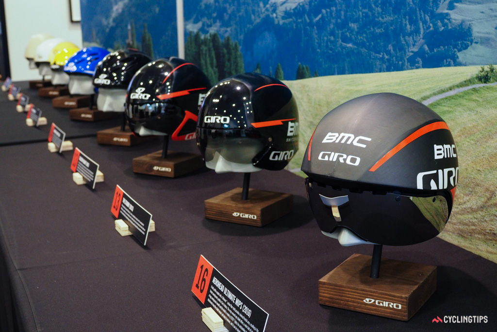 Giro has a long and storied history with aero helmets.