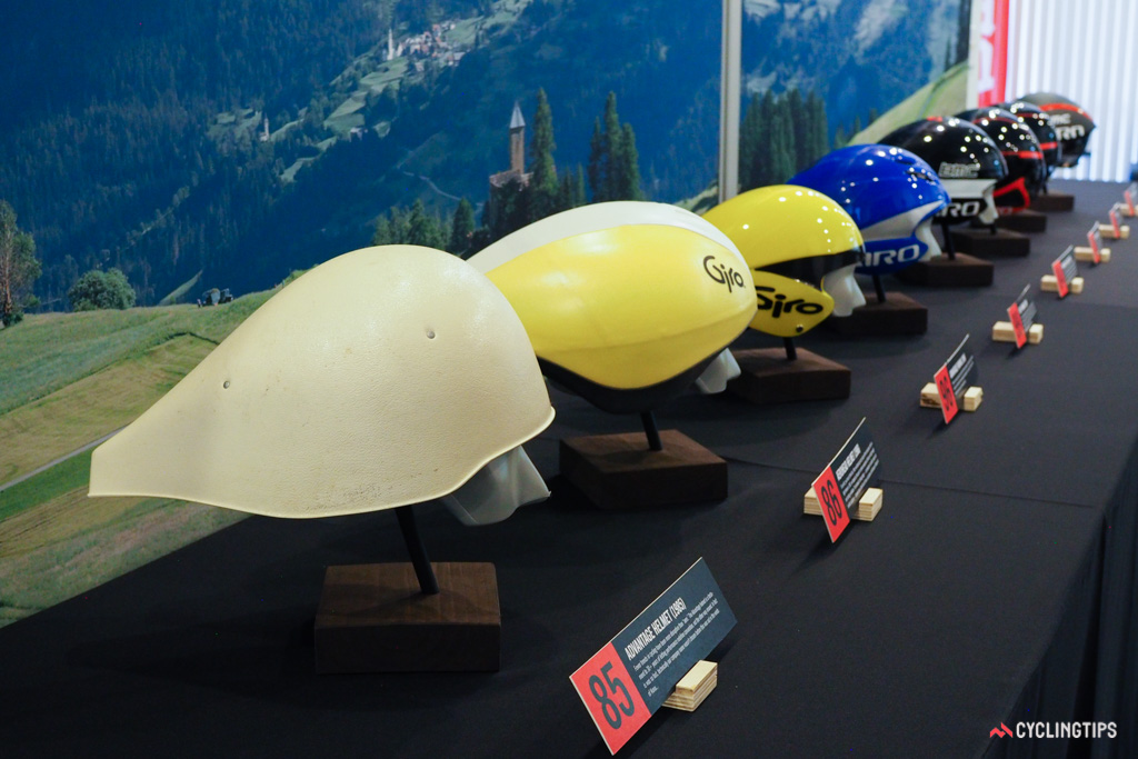 In fact, the company's very first helmet was an aero helmet for time trials, built in 1985.