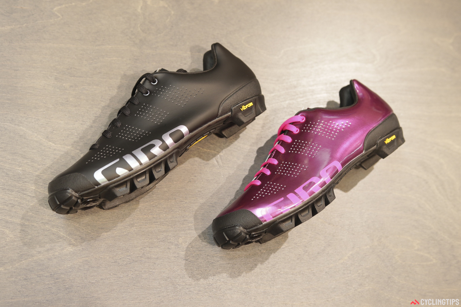 New from Giro is the women's-specific version of the VR90. Two colourways. Photo: David Rome.