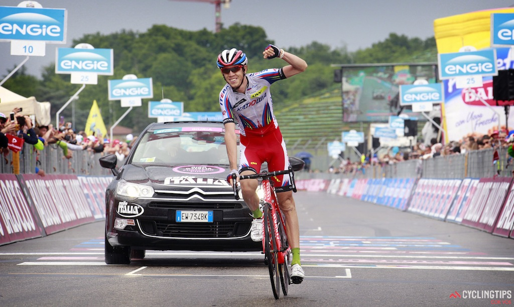 After a surprise win in the Tour de Romandie last year, Ilnur Zakarin went on to win stage 11 of the Giro d'Italia with a late solo move.