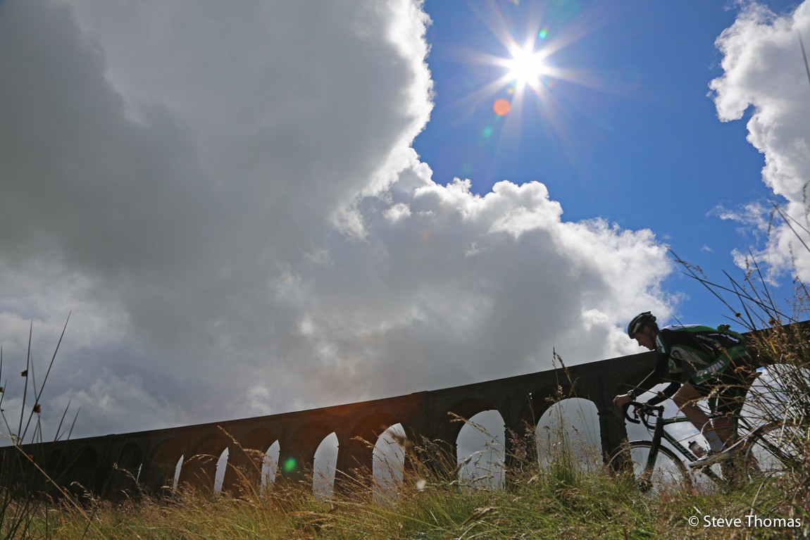 Rob Jebb trains for 3 Peaks  ... in decidedly better weather than he experienced on race day.